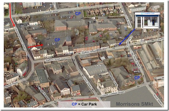 CCS Map New Office Parking Best y